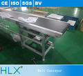 Industrial Inkjet Printer Rubber Belt Truck Loading Conveyor