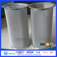 Alibaba China stainless steel Keurig My K-cup Reusable Replace cold brew coffee filter tube cylinder filter tube