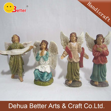Wholesale polyresin christmas angel figure Resin Baby Figures
