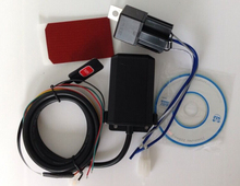 GPS GSM vehicle/motorcycle tracker Xexun XT-009 Overspeed alert,No Box