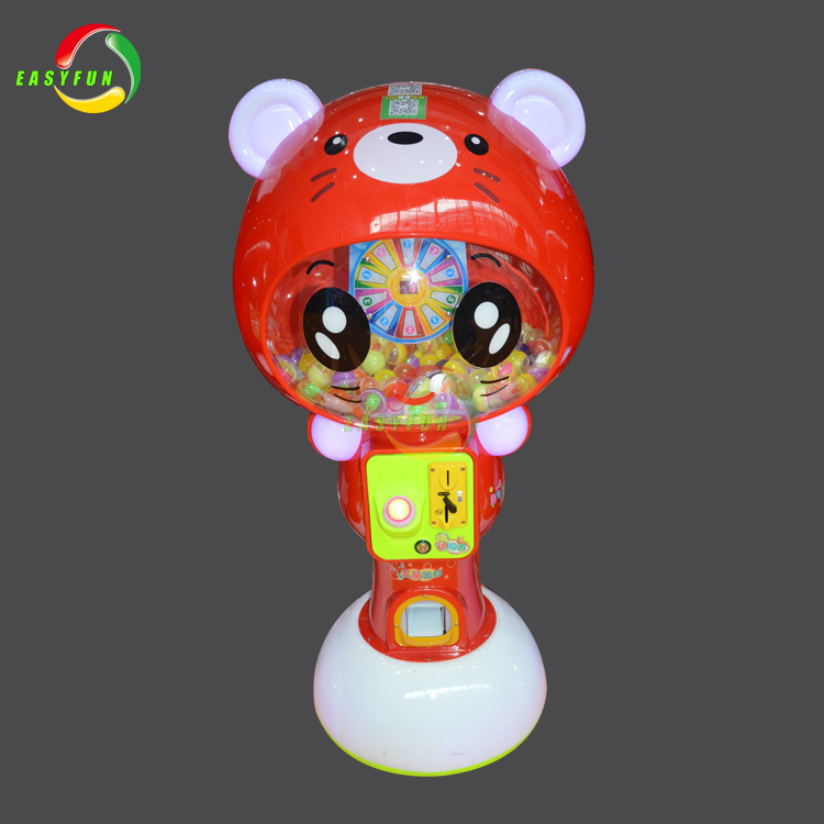 Hot Sale Coin Operated Capsule Toy Vending Game Machine