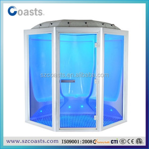 Steam shower room for 1~8 person with star light
