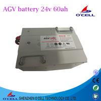 Electric vehicle AGV lifepo4 24V 48V 60Ah lithium ion battery
