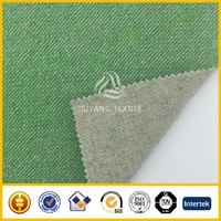 Double face twill wool fabric for garment