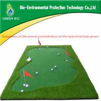 2016 Golf putting green/portable golf green ,office putting game
