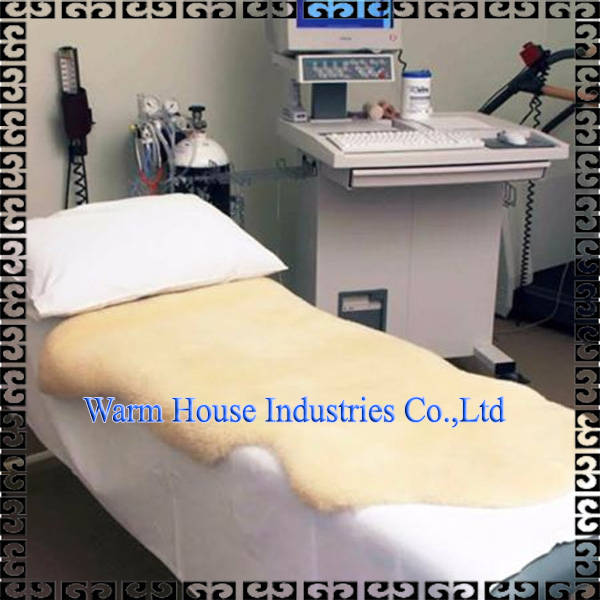 100% Natural Breathable ECO-TAN Double Medical Sheepskin Rugs