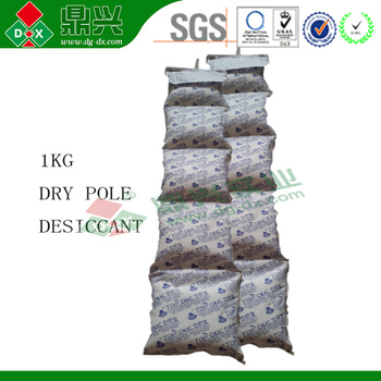Cargo desiccant dry pack in TOP ONE DRY