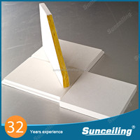 Soundproof material polystyrene panel for ceilings