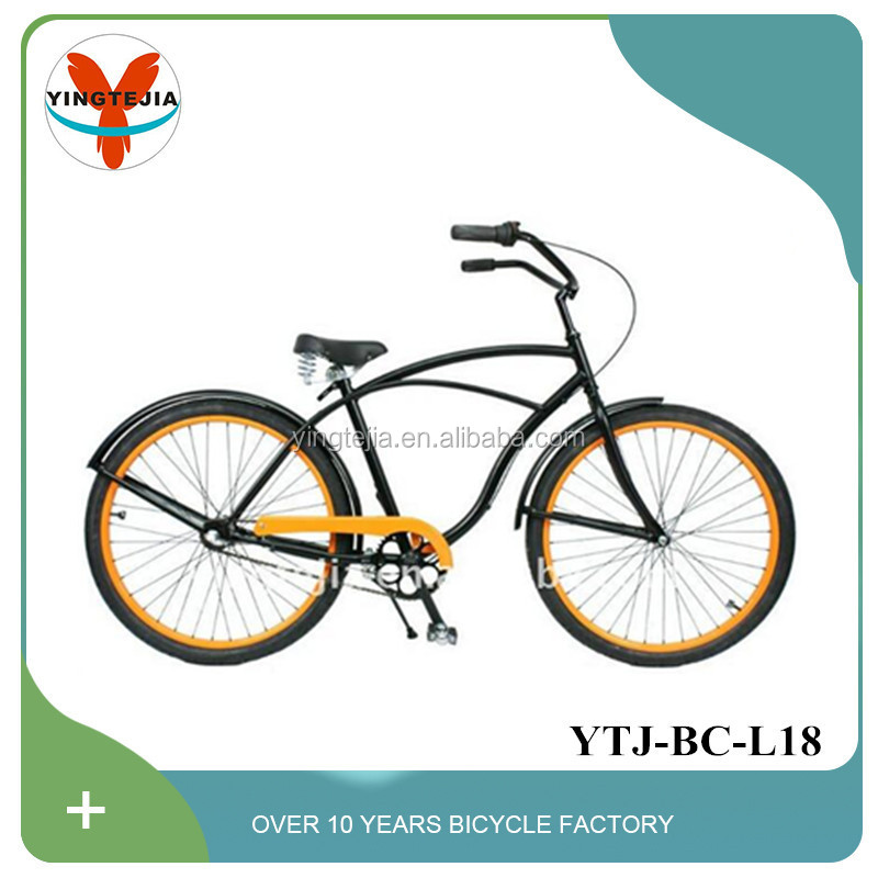 Vintage style 26 inch cruiser bicycle beach cruiser in powerful brake for sale