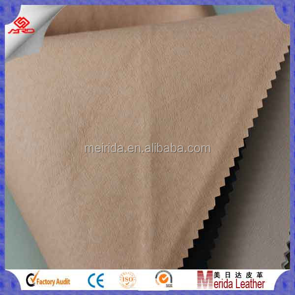 soft pu leather upholstery for shoes lining