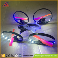 Fast speed have four big wheel 2.4G RC drone remote control quadcopter with light