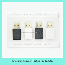 Black USB A Male to micro B 5 Pin Female Adapter Converter,paypal is accepted.
