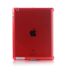 Transparent hard PC case for iPad 2 3, for Apple ipad accessories