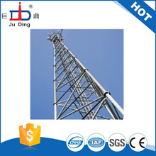 hot dip galvanized tube steel telecom tower