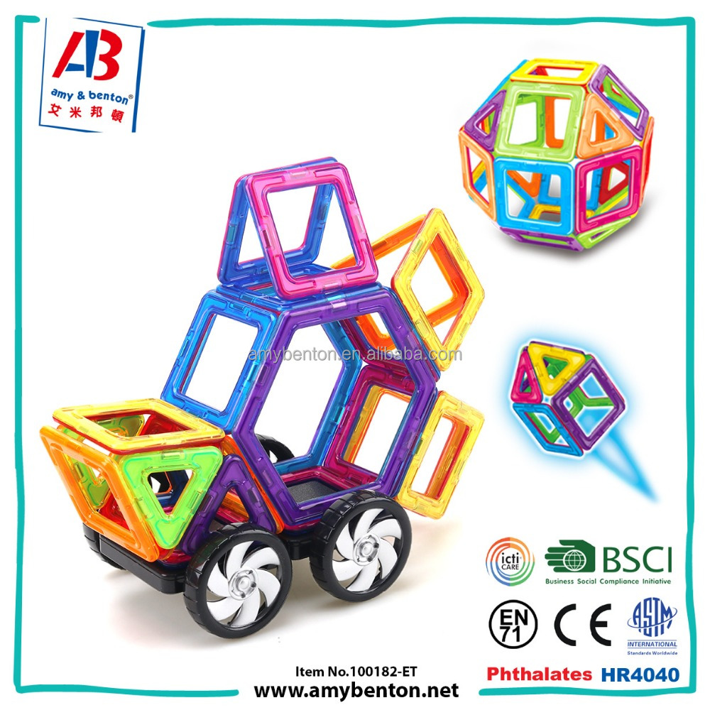 2017 New Magnetic Building Blocks Toys For Kids Educational Toys