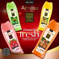Fruit extract natural hair care organic shampoo