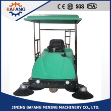Road surface / concrete clean sweeping machine