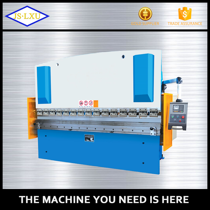 Custom Logo Printing Handmade Cheap hand bender hydraulic iron sheet steel plate press brake folding machine