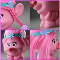 OEM cute Cartoon character vinyl figure with hair for sale