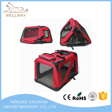 Pet Travel Carriers Soft Sided Portable Bags for Dogs and Cats Airline Approved Dog Crate