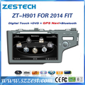 ZESTECH oem car dvd player for Honda fit 2014 car dvd gps car radio auto parts touch screen navis