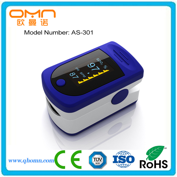 Portable Sports and Aviation Finger Pulse Oximeter OX Spo2 Fingertip Oxygen Digital OLED Monitor Display, CE FDA Approved