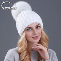 Knitted Winter Beanie Custom Logo New Beanie Hat