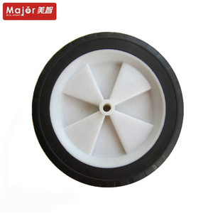 solid rubber tyre 10x1.75 dolly wheel