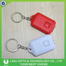Promotional Solar Keychain, Advertisement Solar Key Chain, Plastic Solar Key Ring