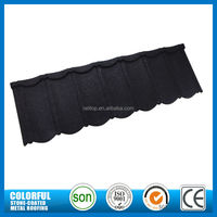 European style stone coated metal roof tile for house
