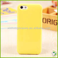 Hot sell 5 colors Cute TPU Mobile Phone Case Cover for iphone5