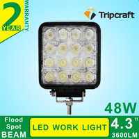 IP67 4.3INCH 48W LED Work Lamp light for Offroad Truck