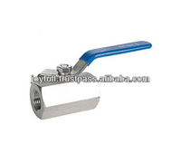 Stainless Steel Forging One Piece Six Angle Ball Valve