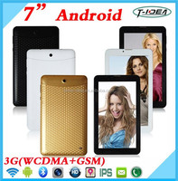 7 Inch MTK Dual Core Phone Call Tablet Pc, Hot Selling Tablet 3G Support Bluetooth FM GPS