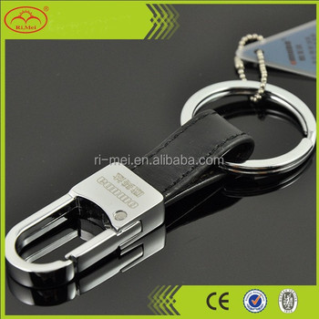 High quality customized leather key holder key chain key ring