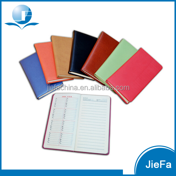 otional Cheap Price Customized Pocket PU Planner
