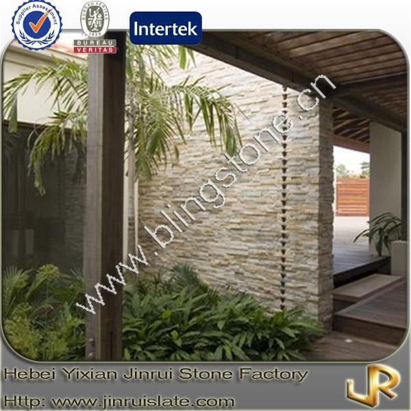 Fachada de piedra pizarra natural beige pizarra - Fachadas de pizarra ...