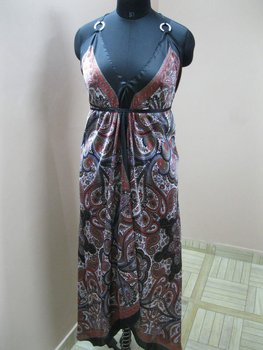 SCARF DRESS,TWO RING LARGE