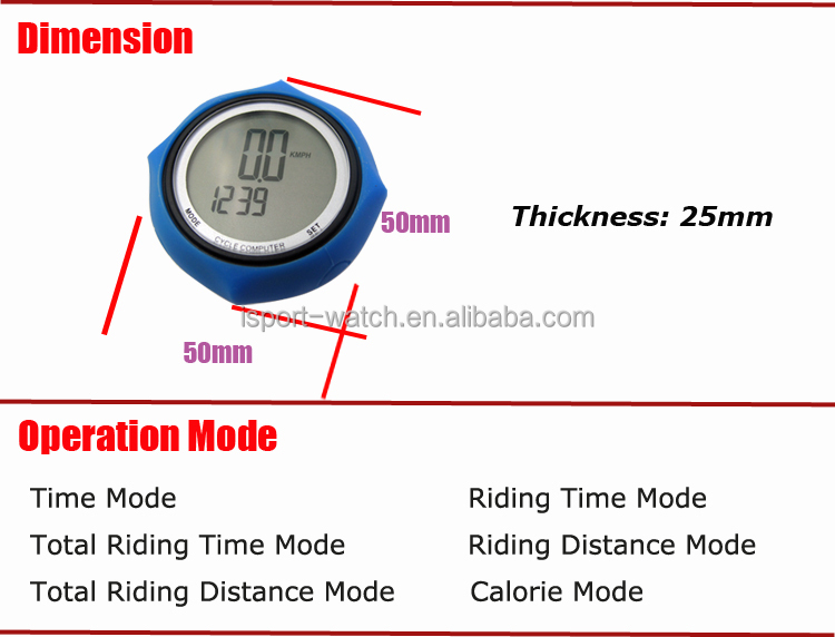 Exercise Wireless Bike Computer Waterproof Bicycle Computer pulsar speedometer
