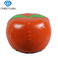 cheap home furniture cartoon leather children apple bar stool dressing room fitting stool shoe store footstool