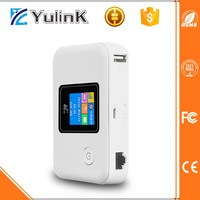 Newest pocket wifi 4g Dongle 4G Router with SIM Card Slot and 5200mAh power bank
