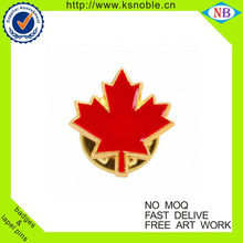 Wholesale canadian maple leaf lapel pins