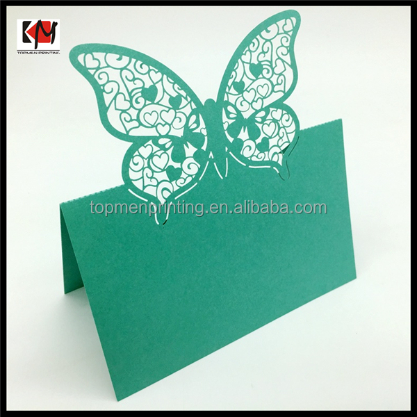laser cut wedding invitation card butterfly wedding invitation cards
