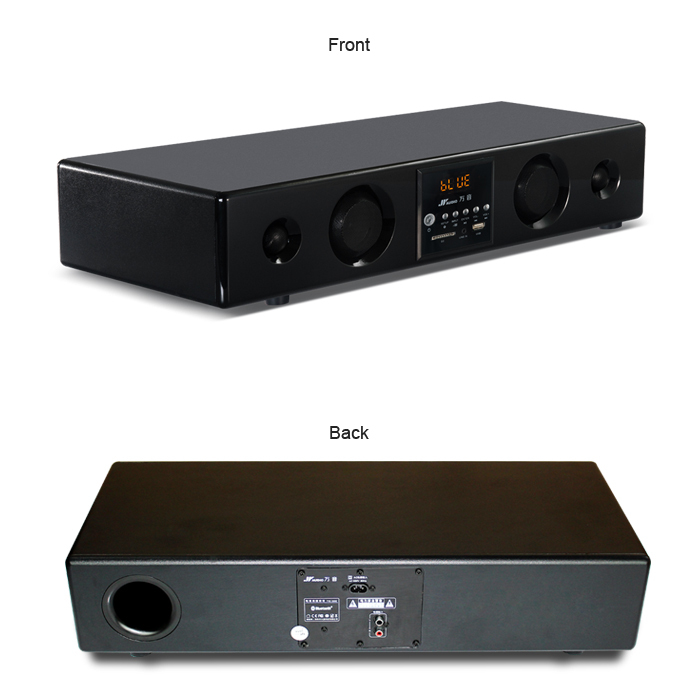 2.0 Home Theater Model of Wireless Sound Bar TVS-300B With Functions of Bluetooth, SD, USB, AUX for LCD TV