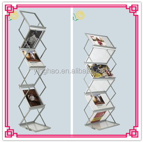 a4 size light acrylic brochure stands