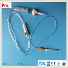 Latex and Latex free Injection site Blood Transfusion Set Blood Giving Set