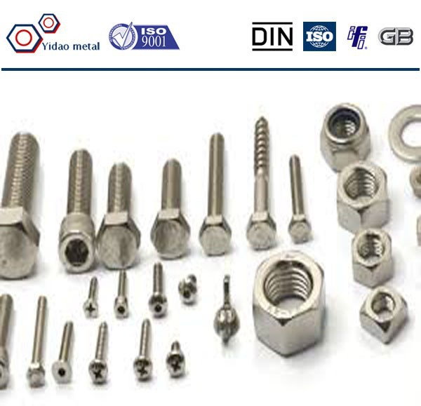 Hex head bolt with nut DIN7990,bolt and nut free samples,hardware