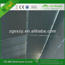 Automatic & Fixed Outdoor Sun Louver/Louvered Operable Shutter