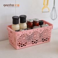 Wholesale china bathroom kitchen living room plastic packing box fireproof storage boxes for sale