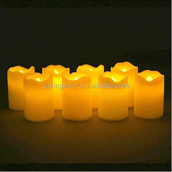 New style single cheap flameless led candles with timer